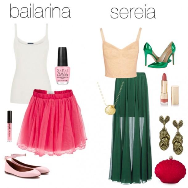 bailarina e sereia