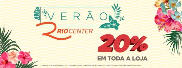 Verão Rio Center 2018 20%